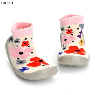 Baby Socks Soft Bottom Non-Slip Floor Rubber Soles Kids Boots Toddler PTE