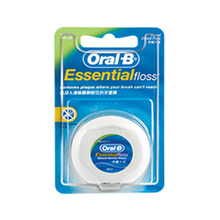 ORAL-B ESSENTIAL WAXED DENTAL FLOSS 50M