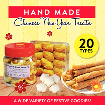 HAND MADE Pineapple Tarts (32pcs/container)/CNY Cookies