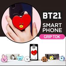 [JK-Commerce] ★ BT21 by BTS ★ GRIPTOK / Stand / Safe Grip / Mount / 3Step Control / Charming Design
