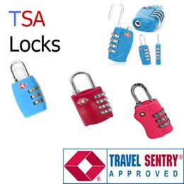 3 Dial TSA Locks/4 Dial TSA Lock/3 Dial Non TSA Lock/4 Dial Non TSA Lock/Travel Lock