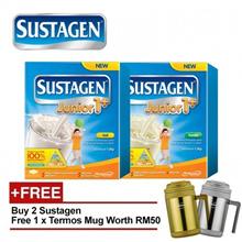 2 x SUSTAGEN Junior 1+ 1.2kg For 1-3Years - 2 Flavor [Free Termos Mug]