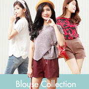 [Update 23 September]^^[Calista] Free shipping ***The Blouse Collections / Bahan adem