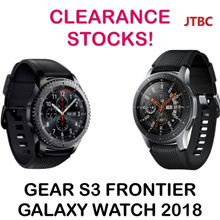 SAMSUNG GEAR S3 FRONTIER / GALAXY Watch 2018 46mm | DAILY DEAL! | CLEARANCE | 1 YEAR LOCAL WARRANTY