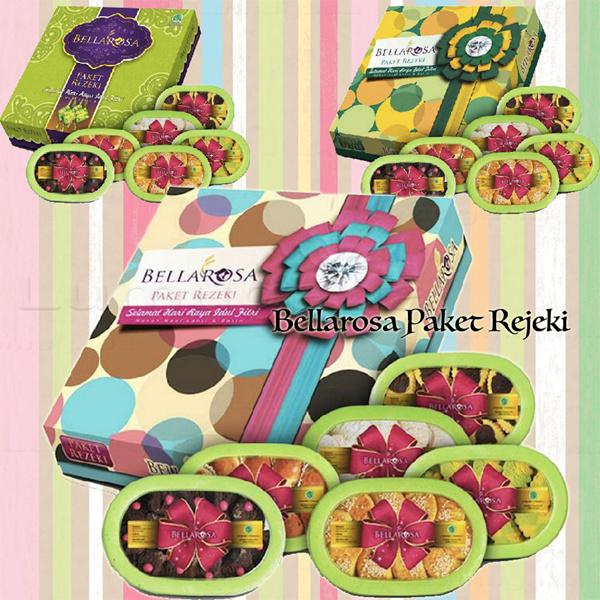 Kue Kering Bellarosa 6in1 Paket Rejeki belarosa Rezeki Cemilan Lebaran Idul Fitri Deals for only Rp69.500 instead of Rp69.500