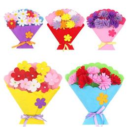 DIY Thankyou card/Birthday Card/DIY Carnation Flower / DIY Card/CNY DIY ornament/party gifts