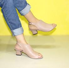 Sling Back Strap Sepatu Heels Wanita Marlee BB-27