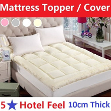 10CM Japanese Style Mattress Cover/Topper/nature silk Blanket/Bed Sheet/Anti-bacterial/Anti-mite