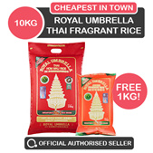 [Topseller] CHEAPEST IN TOWN! Royal Umbrella - 10KG THAI FRAGRANT RICE!  QUALITY RICE!