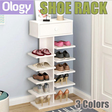 Amazing Shoe Rack Wooden Shoe Cabinet Organizer Shelf Storage with Drawer