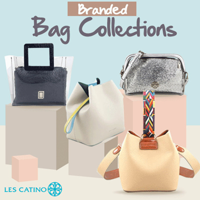 Qoo10 Les Catino Branded Bags Collection New Arrival