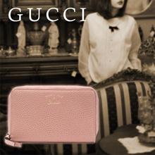 Gucci GUCCI purse round fastener soft pink 354497 CAO 0 G 5806