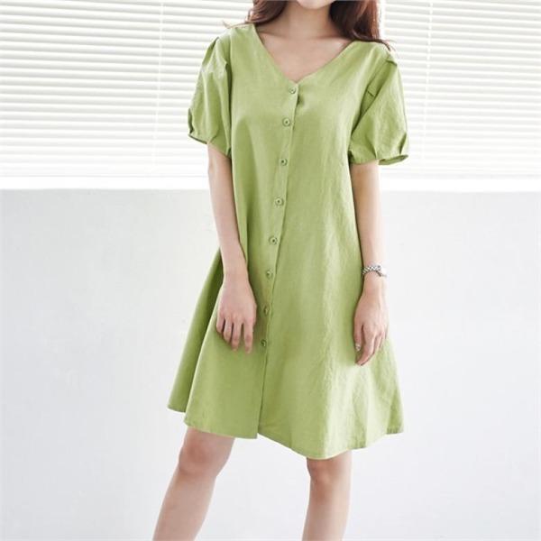イニクルフィコットンOPSワンピースnew ロング/マキシワンピース/ワンピース/韓国ファッション