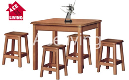 Dining Table Set/ Dining Table/ Chair/ Wooden/ Wood