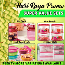 [QUUBE] Tupperware Hari Raya Promo Air Tight Containers One Touch / FreezerMate / Snow Flake / Modul