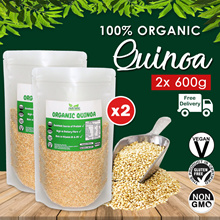 ☆ Value Bundle 1+1 ☆ Organic Quinoa [600g] x2 OR Organic Tricolour Quinoa [500g] x2 ~ FREE SHIPPING