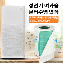 DIY millet air purifier filter dusting electrostatic cotton hepa filter paper except pm2.5 air condi