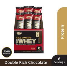 Optimum Nutrition Gold Standard Whey Stick Packs 6/Carton - 182g (Per Carton) 30.4g (Per Packet)