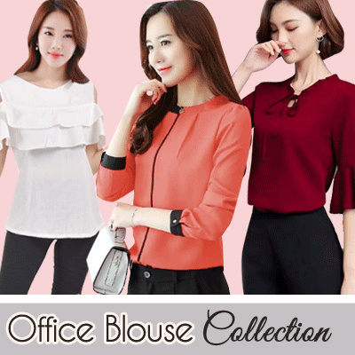 [ NEW COLLECTION UPDATED ] JFASHION BLOUSE COLLECTON // KOLEKSI BLUS WANITA Deals for only Rp52.000 instead of Rp52.000