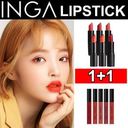 [INGA] ★1+1★ Semi Matte Lipstick / Liquid Lipstick / Free Shipping!!