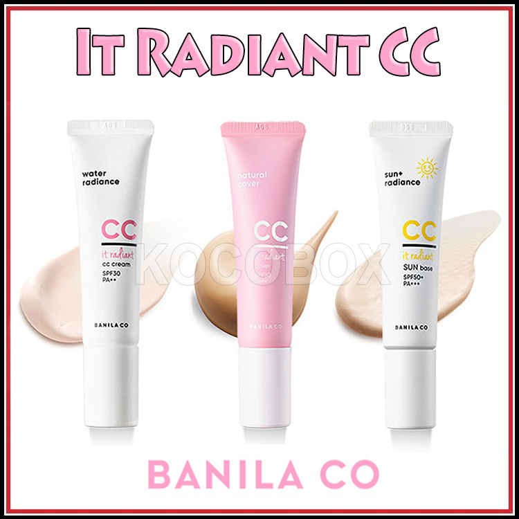 Banila Co [Banila Co] It Radiant CC Cream It Radiant CC Cover Cream It  Radiant CC Sun Bass / 30ml