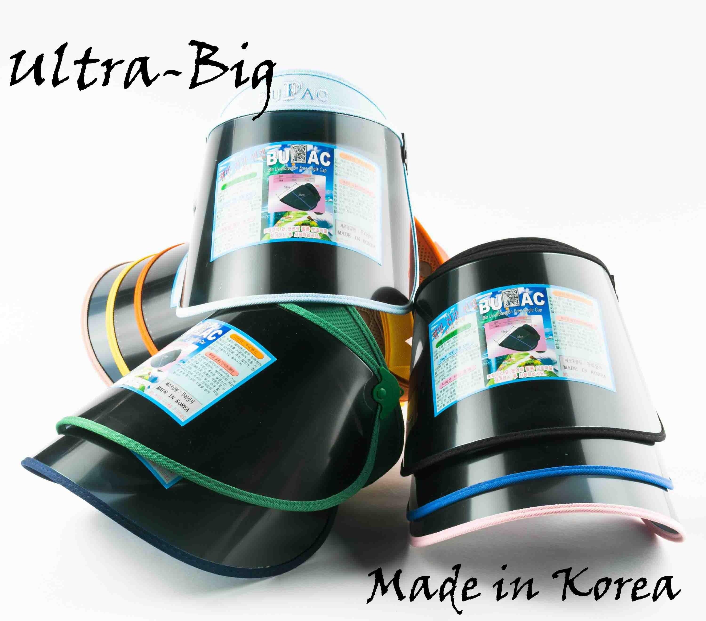 6ba26a10 Qoo10 - Golf Sun Visor Hat UV Rays 99.9% Prevention Ultra Big Size ...