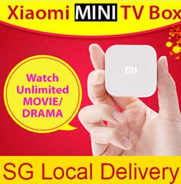 [Xiaomi]**LOCAL SELLER** Xiaomi TV Box Mini/2015 NEW 4th Generation - 1GB RAM 4GB FLASH STORAGE