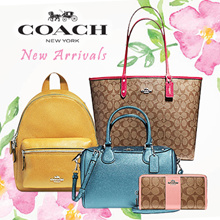 COACH  NEW COLLECTION - WALLETS AND BAGS