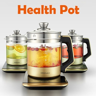 Health pot full automatic multifunctional thick glass split electric kettle pot boiling pot Deals for only RM54.5 instead of RM160