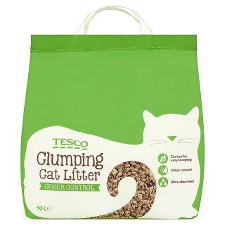 Tesco Clumping Cat Litter 10L halal