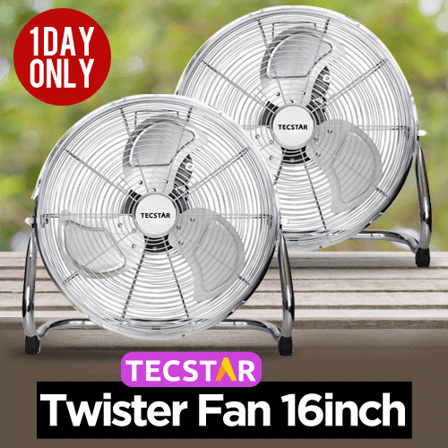 TWISTER FAN TECSTAR TIF 160 NF Deals for only Rp365.000 instead of Rp365.000