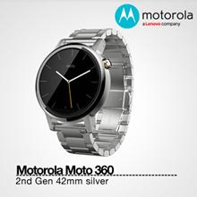 Motorola|Moto 360 2nd Gen 42mm Silver Metal1 year local warranty