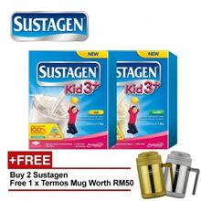 2 x SUSTAGEN Kid 3+ 1.2kg Step 3 For 3-6Years - 2 Flavor [Free Termos Mug]