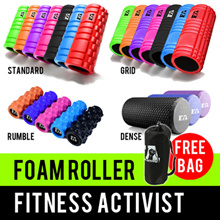 ⏰💪★★Premium Quality EVA Foam Roller with PVC Pipe★★Not Cardboard★★Deep Tissue Massage★★SG Seller