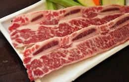Daging Sapi US Choice Short Ribs Bonein Beef Kalbi Cut 1cm marbling4+