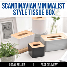 ★ Scandinavian Minimalist Style Tissue Box DIY Holder ★ Space saving Multi Purpose Storage Vintage