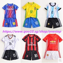 Childrens soccer clothes Kids summer baby two-piece jersey boys summer sports suit