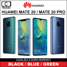 HUAWEI MATE 20 / MATE 20 PRO   LOCAL SET 2 YEARS WARRANTY   LEICA LENS  