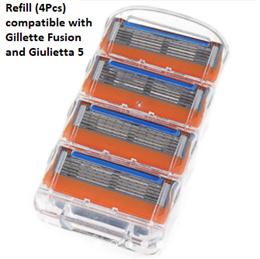 Shaver razor blade refill cartridge cheap compatible Gillette Fusion Handle