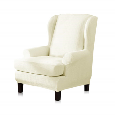 Tikami Wing Chair Slipcovers Stretch