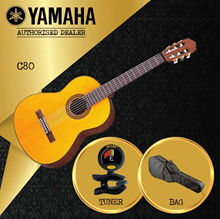 [Local Authorised Seller] Yamaha C80 Classical Guitar