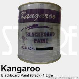 Kangaroo Chalkboard Paint 1082 Black 1L