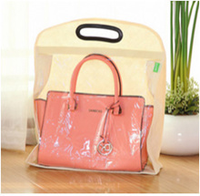Dust-Free Handbag Protectors With Visible Window / Hanger / Holders / Bag Organizer/  5 Hooks / Best Storage Space Saver / Hanging / Fashion Organiser / Neat / Compartment / Tidy Wardrobe