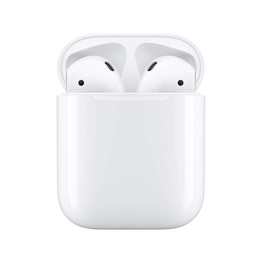 Apple Airpods 2 + Wireless Charging Case Wireless Earphones / Siri Compatible / 24 Hour Battery Life