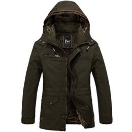 Men Fur Outwear winter Coat Military Man Cotton Jacket 外套