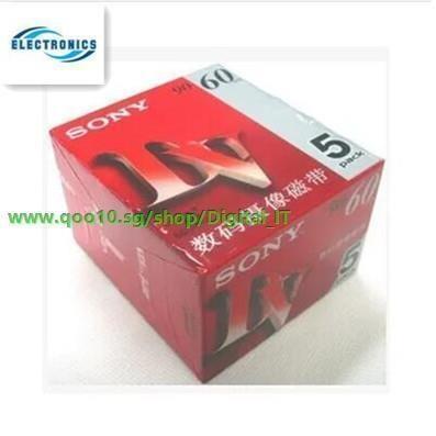 SONY DVM60PR4 MINI DV 60 MIN CASSETTE //Made in Japan// DVM60R 5-Set 25Pcs