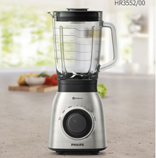 Philips Viva HR-3552 High Speed Mixer 1.5L (up to 2L) 6 blade Ice crushing Dishwasher available