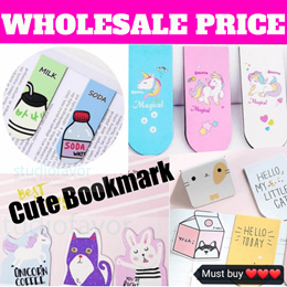 LATEST! Korean Style Magnetic Bookmark [Buy 10+1 Free] Christmas gift ideas. Wholesale Price.