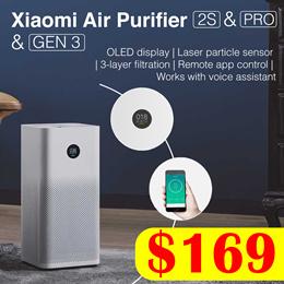 [Local Warranty] XIAOMI Air Purifier Gen 3 // 2S // Pro   OLED Display