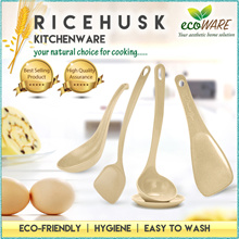 ecoWARE [ Ricehusk Kitchen Spatula ] | Anti-Bacterial | eco-friendly